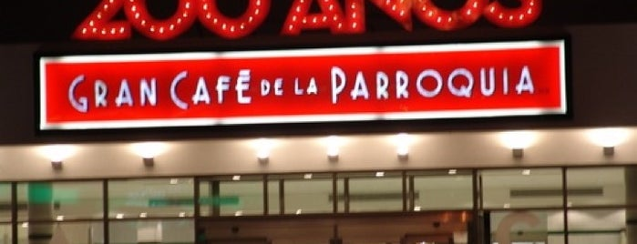 Gran Café de la Parroquia is one of Locais curtidos por Sheyla Veronica.