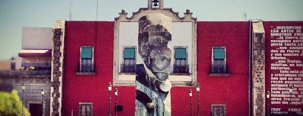 Plaza de los Fundadores is one of #Cervantino2013.