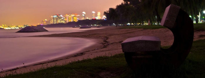 East Coast Park is one of Singapour.
