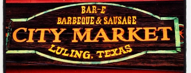 City Market is one of BBQ Everywhere.