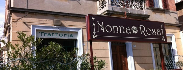 Trattoria Nonna Rosa is one of Bologna.