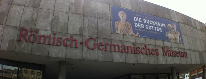 Römisch-Germanisches Museum is one of StorefrontSticker #4sqCities: Köln.