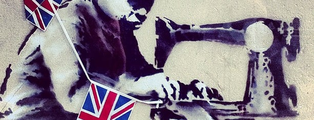 "Banksy ""The Queen's diamond Jubilee"" is one of London To Do."