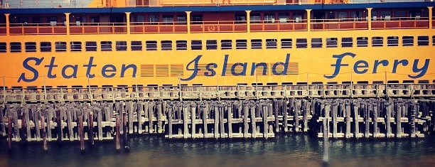 Staten Island Ferry - St. George Terminal is one of leoaze 님이 저장한 장소.