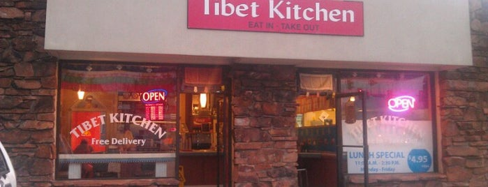 Tibet Kitchen is one of Lugares favoritos de Angela.