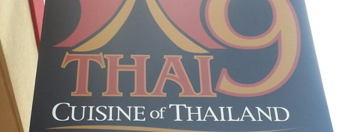 Thai 9 is one of Dayton Favorites.