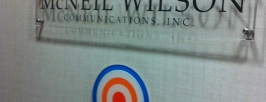 McNeil Wilson Communications is one of Tempat yang Disimpan Rebecca.