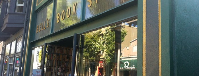 Bell's Book Store is one of San Francisco.
