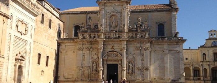 Lecce is one of Italian Cities.
