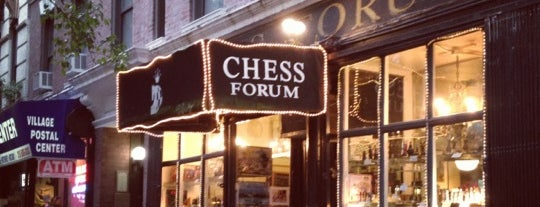 Chess Forum is one of Stylists Guide to NYC.