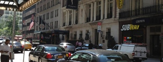 Millennium Broadway Hotel is one of Hotels - NY & Atlanta.