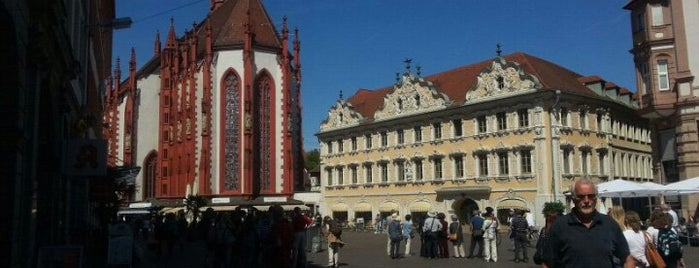 Würzburg is one of ❤-Plätze.