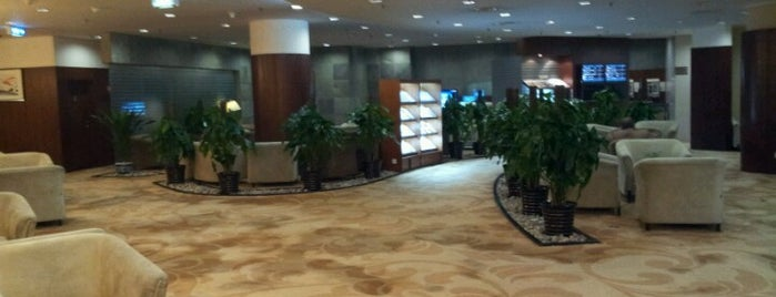 BGS Premier Lounge (Beijing Int'l Airport T2) is one of Aeroporto.