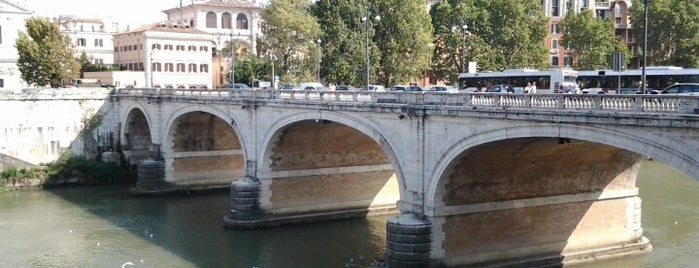 Ponte Cavour is one of Lieux qui ont plu à Jan.