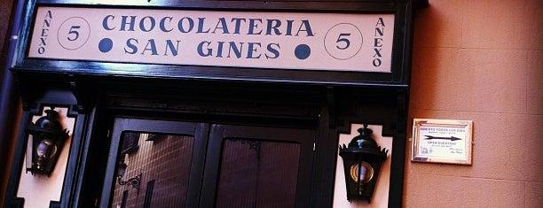 Chocolatería San Ginés is one of Cafeterías de Madrid.