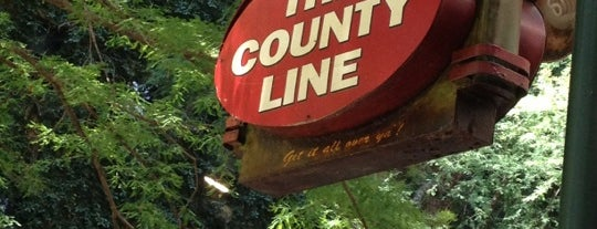 The County Line is one of All-time BBQ.