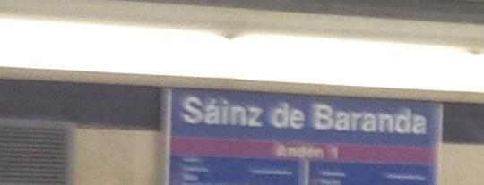 Metro Sáinz de Baranda is one of Lugares favoritos de m.