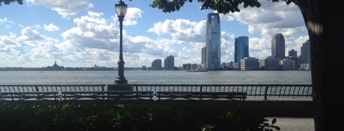 Hudson River Promenade is one of +NYC14.