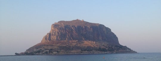 Monemvasia Castle is one of The Bucket List.
