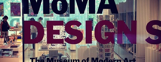 MoMA Design Store is one of JPN.
