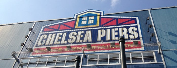 Chelsea Piers is one of Glen 님이 저장한 장소.