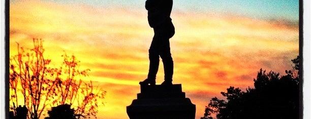 Appomattox (The Confederate Statue) is one of Joshua Lawrence Chamberlain.