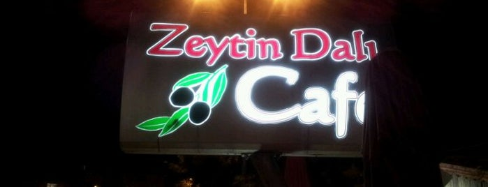 Zeytin Dalı Cafe is one of Tempat yang Disukai Engin.