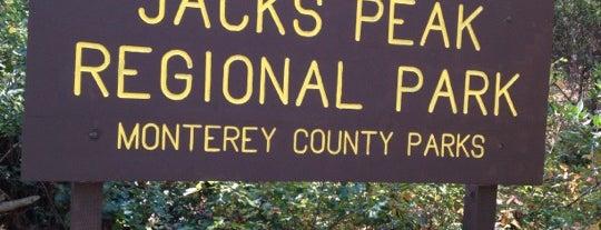 Jacks Peak County Park is one of Lieux sauvegardés par Kim.