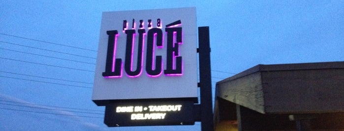 Pizza Lucé is one of All The Places I Can Think of That I've been.