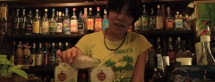 Tafia is one of Cool Tokyo Bars.