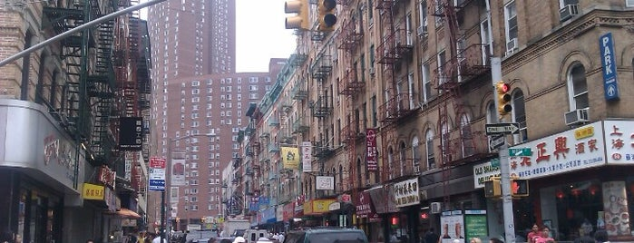 Chinatown is one of New York City Tourists' Hits.