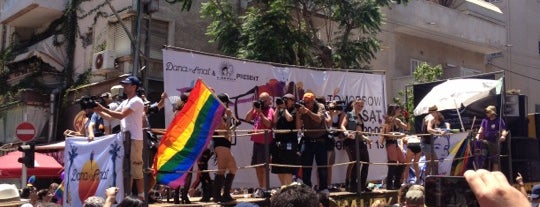 Gay Pride 2015 Tel Aviv is one of Lugares favoritos de Mitya.