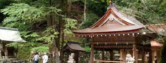 貴船神社 奥宮 is one of Places to go in Kyoto.