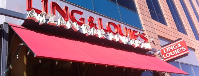 Ling and Louie's Asian Bar and Grill is one of Lugares favoritos de Paul.
