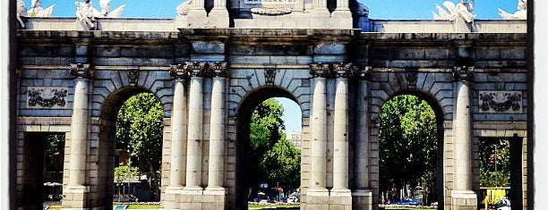 Plaza de la Independencia is one of Dieter's favourite spots in Madrid.