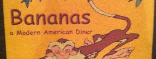 Bananas Modern American Diner is one of To try....