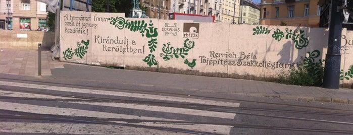 Móricz Zsigmond körtér is one of Must See in Budapest !.
