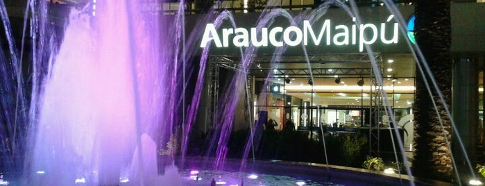 Mall Arauco Maipú is one of Lieux qui ont plu à Itzá.