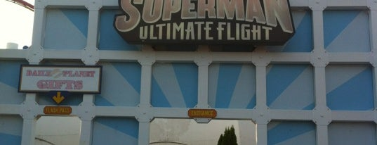 Superman Ultimate Flight is one of Tim'in Beğendiği Mekanlar.