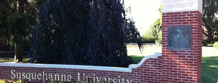 Susquehanna University is one of Danville or bust..