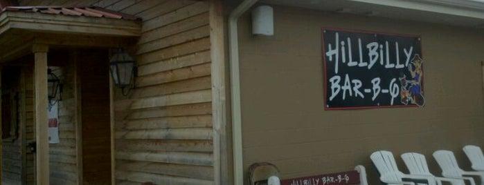 Hillbilly Bar-B-Q is one of Louisiana.