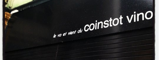 Coinstot Vino is one of Les resto bons et cool.