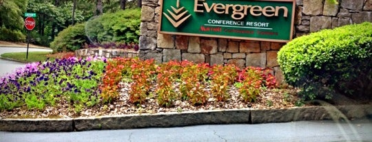 Atlanta Evergreen Marriott Conference Resort is one of Posti che sono piaciuti a Krystal.