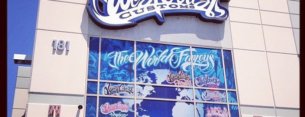 West Coast Customs is one of Alicia's Top 200 Places Conquered & <3.