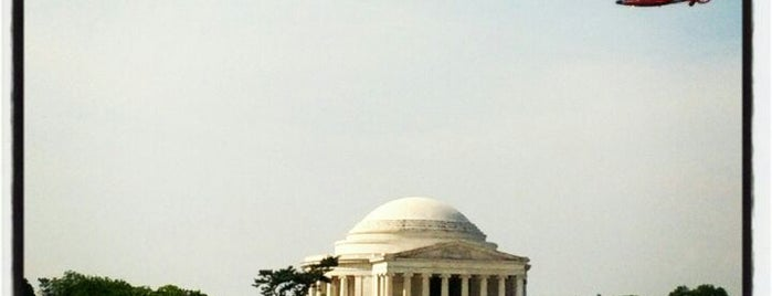 Thomas Jefferson Memorial is one of A Not So Tourist Guide to DC.
