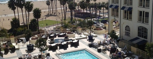 Loews Santa Monica Beach Hotel is one of LA and beach cities as a local.