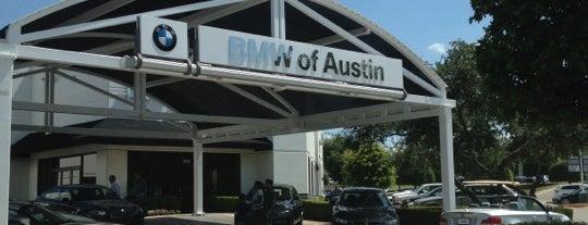 BMW of Austin is one of Giselle'nin Beğendiği Mekanlar.