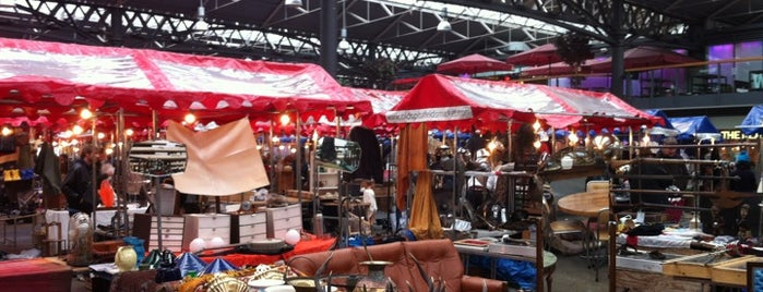 Old Spitalfields Market is one of Michael's London.