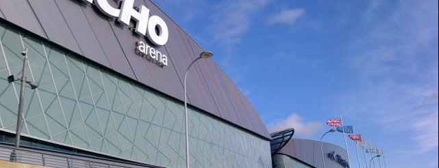 M&S Bank Arena Liverpool is one of Laura : понравившиеся места.