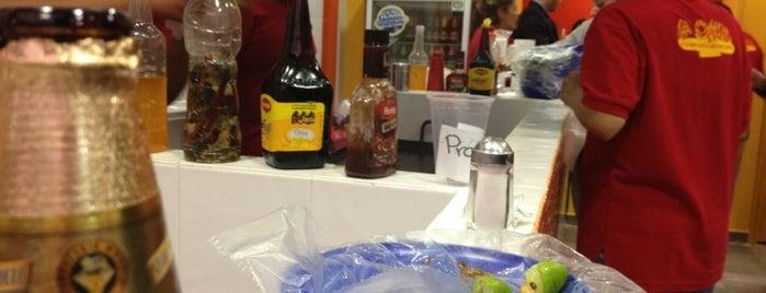 La Chule Tacos is one of La ruta del sabor :).